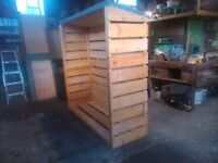 6 x 6 x 2 Log Store