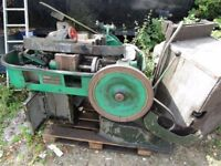 SCRAP MACHINE USED FOR MAKING TIN CANS ETC IDEAL SPARES NORTHANTS £160