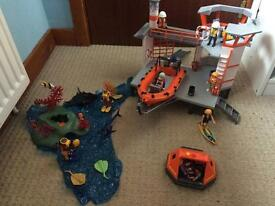Playmobil coastguard 3 sets