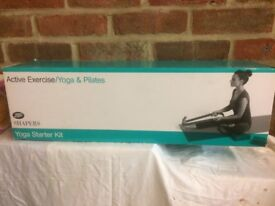New Yoga exercise mat and accessories from Boots