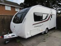 Swift Challenger 480 SE 2 Berth Caravan 2015 Complete With Everything Needed
