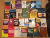 REDUCED-Politics Undergraduate Study University books 28 books