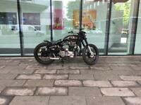 350 Enfield Bobber Running Project
