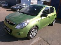 2009 HYNDAI I20 1.2 CLASSIC 5DOOR, FULL SERVICE HISTORY, CLEAN CAR, DRIVES LIKE NEW, HPI CLEAR
