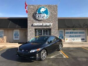 2012 Honda Civic Coupe SHARP SI W/HFP KIT! FINANCING AVAILABLE!