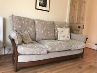 Ercol three seater sofa (matching armchair also available)