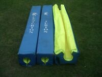 Post protectors for sports or playgrounds