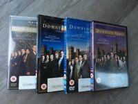 Downton Abbey Series 1,2,3 plus Christmas at Downton DVD box sets