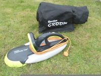 GARDEN GROOM PRO HEDGE TRIMMER WITH COLLECTION BAG