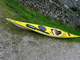 Sea kayak P&H Sirius. Great boat. Offers welcome