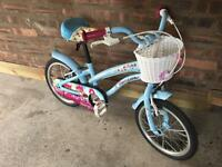 Girls bike 4-6 year old