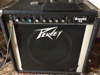 Peavey Bandit 65 watt combo 1 x12 combo guitar amplifier