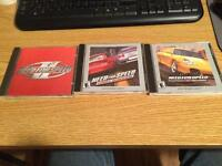 Old need for speed games.