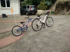 Trail-a-bike. Excellent condition, quality brand.