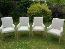 4 IKEA Henriksdal Chairs