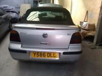 Breaking for spares be golf MK3 convertible everything available still drives