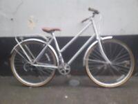 Size-21 Newish Elite 7speed Dutch Bike