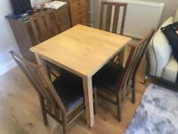 Table And 4 Chairs IKEA