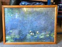 Monet Water Lillies Framed Print