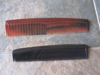 Over 100 Men's Combs Ideal for shops, market stall holder, church fetes, car boots etc