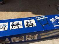 Tilt and Fold Down Workbench