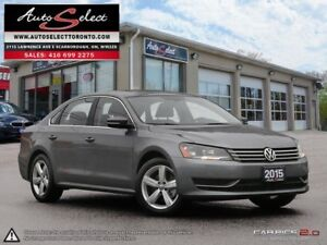2015 Volkswagen Passat ONLY 76K! **TECHNOLOGY PKG** SUNROOF