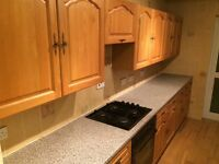 Second Hand Kitchen Units, Oven, Hob, Sink (Will be dismantled)