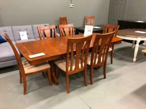 6 person Dining Sets $1,000 - solid wood- Different Styles to choose from now at dex10
