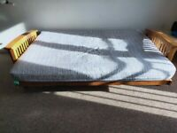Solid wood futon bed for sale