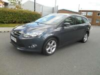 2014 FORD FOCUS ECO ZETEC NAVIGATOR. 1 COMPANY OWNER, FULL DEALER HISTORY