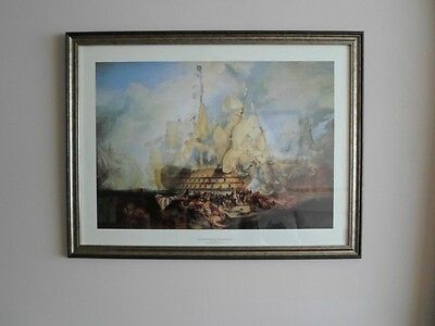The Battle of Trafalgar - Turner - Unique Edition Unframed Print