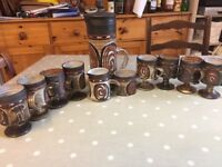 Complete Coffee cup set