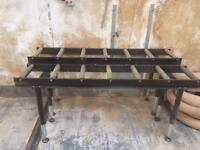 7 bar heavy duty roller stand