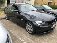 2006 E90 BMW 320i MSPORT SALOON MANUAL, 125K, 10M MOT, BROWN LEATHER