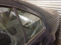 VW BORA 98-04 QUARTER PANEL WINDOW GLASS N/S PASSENGER SIDE REAR