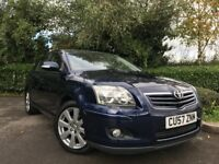 2007 (57) Toyota Avensis 2.0 D-4D TR 52,000 MILES 1 LADY OWNER IMMACULATE TOYOTA SERVICE HISTORY