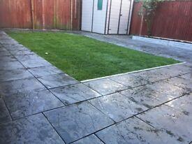 Fencing fencing Turfing driveways patio slabing garden levelling