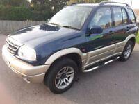Suzuki grand vitara 4x4 36k miles light damaged