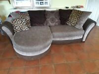Sofa for sale. Collection only. Needs gone asap. From smoke and pet free home. £100