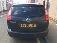 MAZDA 5 2.0 TURBO DIESEL SPORTS NAV 7 SEATER 2006 56 REG RUNS AND DRIVES WELL