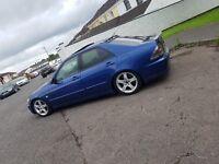 Lexus is200 full mot NOT civic bora twincam sierra golf omega type r passat bmw honda vxr vaxhaull e