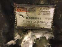 Whitebird 125/159 BTU Oil Boiler