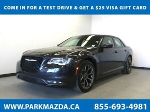 2016 Chrysler 300 S, Leather, Remote Start, Backup Cam, Touchscr
