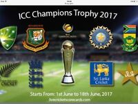 England v New Zealand ICC 2017 cricket