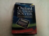 SEIKO ER3700 OXFORD CROSSWORD SOLVER FOR SALE