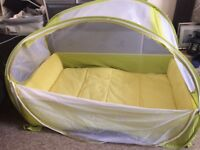 Koo-di pop up travel cot