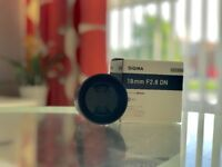 Sigma 19mm f/2.8 DN Lens for Sony E-Mount