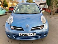 NISSAN MICRA 2006 1.2L ***LOW MILLAGE, 1 YEAR MOT, 2 OWNERS***