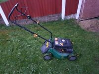 PETROL LAWN MOWER 3.5HP WORKING ORDER