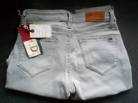 Brand new with tags orignal tommy hillfiger skinny jeans size 6